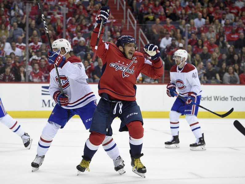 18acc6a3a64 Alex Ovechkin gets historic hat trick
