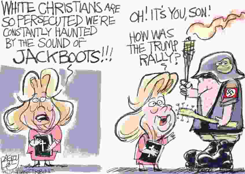 Bagley Cartoon: Prize For Most Persecuted Goes To ...