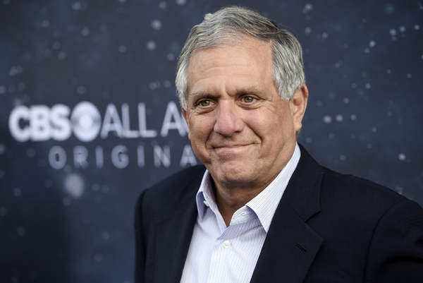 (Photo by Chris Pizzello/Invision/AP, File) In this Sept. 19, 2017, file photo, Les Moonves, chairman and CEO of CBS Corp., poses at the premiere of the new television series