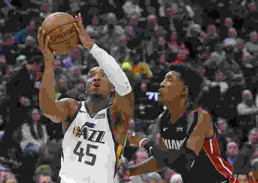 The Triple Team: Andy Larsen's analysis of the Jazz's Rudy Gobert and Donovan Mitchell-fueled win over the Miami Heat
