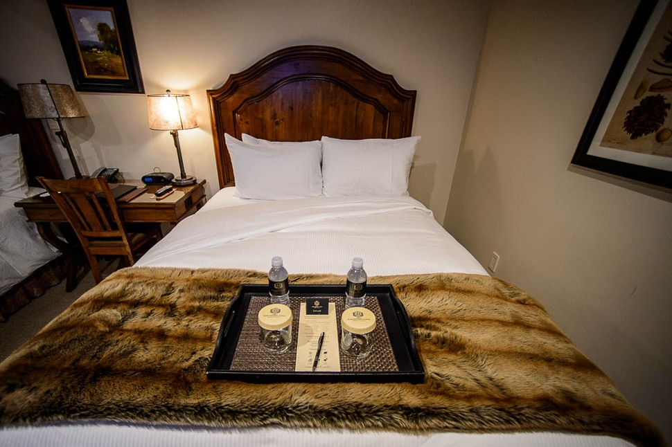 (Trent Nelson | The Salt Lake Tribune) Turndown service at the Stein Eriksen Lodge in Park City on Thursday Dec. 20, 2018. The Forbes Travel Guide recently named Utah's Stein Eriksen Lodge as one of the most Luxurious Hotels in the World.