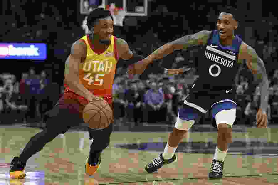 The Triple Team: Jazz attack poor Minnesota defense with passing to get open looks; bench bounces back
