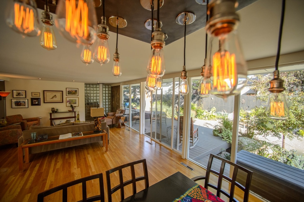 (Trent Nelson | The Salt Lake Tribune) Diana and Gerry Johnson's Holladay home is on the 2019 Salt Lake Modern Homes Tour. Preservation Utah is featuring five mid-century modern homes that were built in 1955 by architect Stephen Macdonald. The home was photographed on Thursday, Sept. 19, 2019.