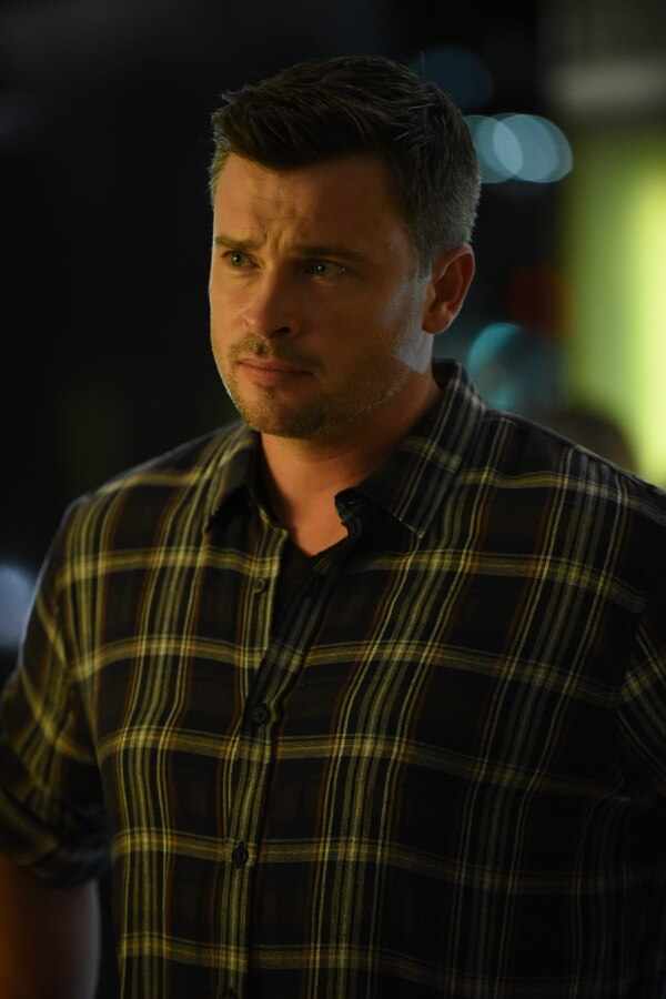 "(Photo courtesy of Ray Mickshaw/Fox) Tom Welling as Marcus Pierce on ""Lucifer."""