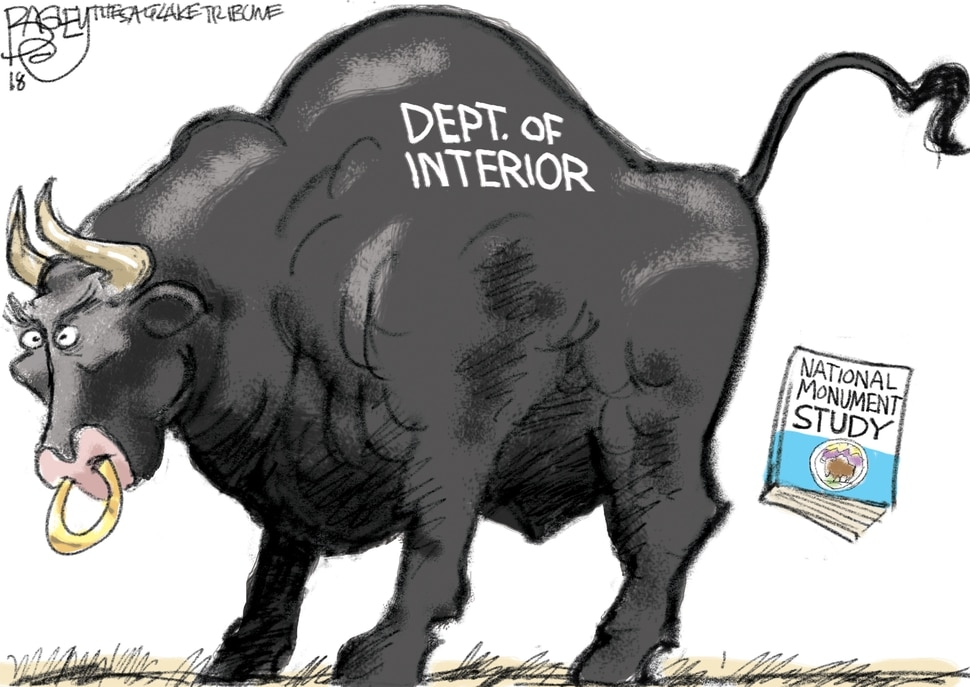 This Pat Bagley cartoon appears in The Salt Lake Tribune on Thursday, July 26, 2018.