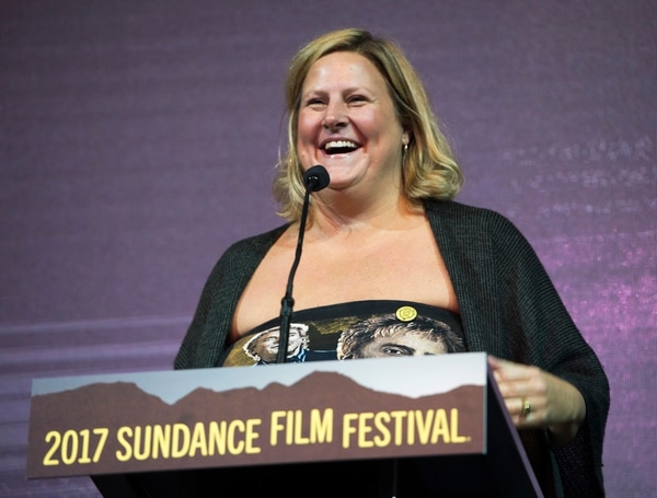 Rick Egan | The Salt Lake Tribune Bridget Everett at the 2017 Sundance Film FestivalÕs Awards Ceremony, Saturday, January 28, 2017.