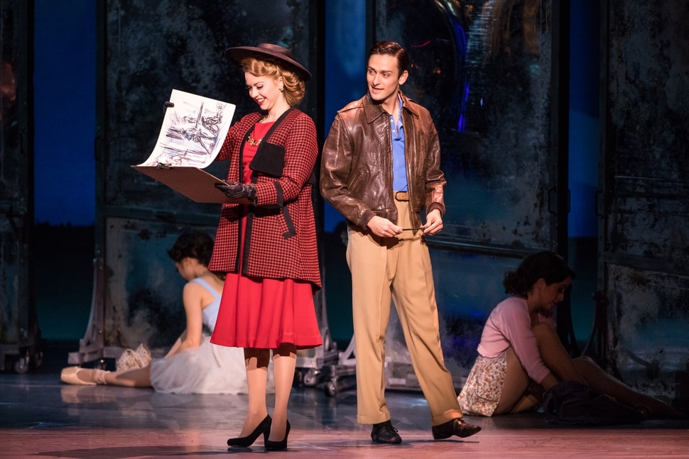 (Courtesy Matthew Murphy) Emily Ferranti and Garen Scribner in An American in Paris. The touring production hits Salt Lake City's Eccles Theater on Oct. 10-15.