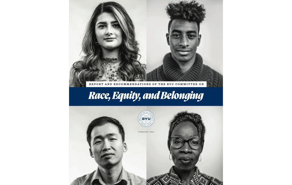 "(Screenshot via Brigham Young University) A new report released by Brigham Young University on Friday, Feb. 26, 2021, finds that students of color often ""feel isolated and unsafe as a result of their experiences with racism at BYU."""