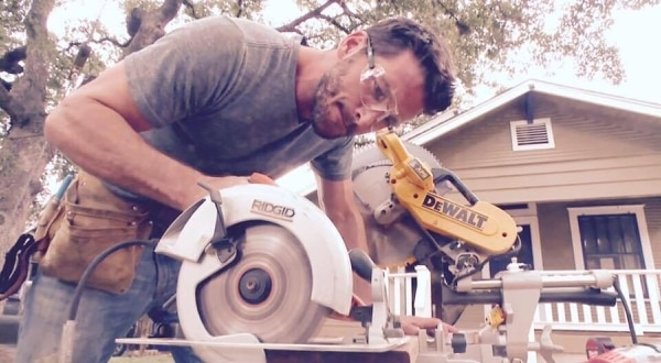 """(Photo courtesy TLC) Carpenter Brent Tudor joins the cast of """"Trading Spaces."""""""