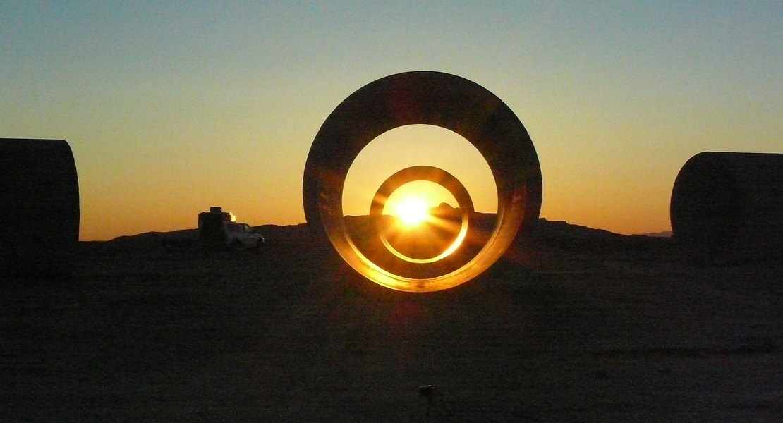 Sun Tunnels, pioneering piece of 'land art' in Utah's west desert, to undergo conservation work for the first time in its history