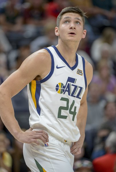 7d2019b4c27 Monson: Grayson Allen and Jae Crowder, the Jazz's Odd Couple, are not so  odd after all