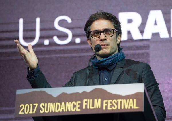 Rick Egan   The Salt Lake Tribune Jury member, Gael Garc'a Bernal invites everyone to come to Mexico, before giving out an award at the 2017 Sundance Film FestivalÕs Awards Ceremony, Saturday, January 28, 2017.