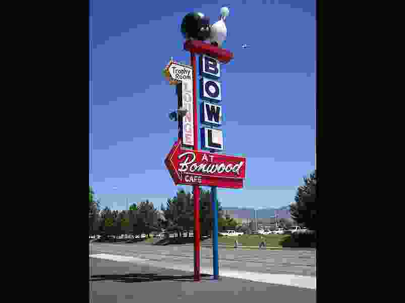 Iconic bowling sign in South Salt Lake — which was damaged in an accident last October — has been restored
