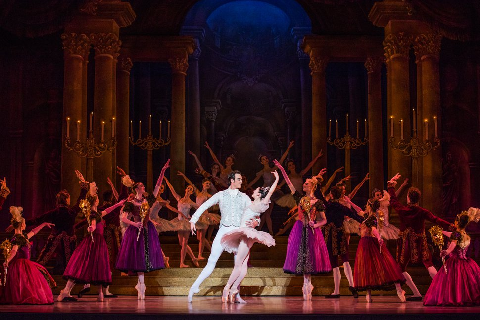 (Courtesy Ballet West | Beau Pearson) Ballet West principal artists Chase O'Connell and Beckanne Sisk perform in