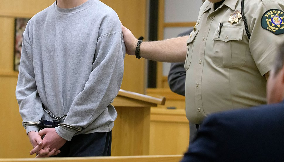 (Eli Lucero   Pool Photo) Jayzon Decker leaves the courtroom after pleading guilty on Tuesday, December 19, 2017, to aggravated attempted murder and obstructing justice in the shooting of Deserae Turner.