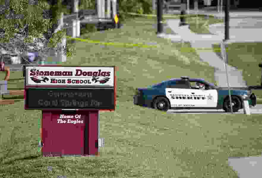 The deputy who failed to confront the Marjory Stoneman Douglas High School shooter is getting pension