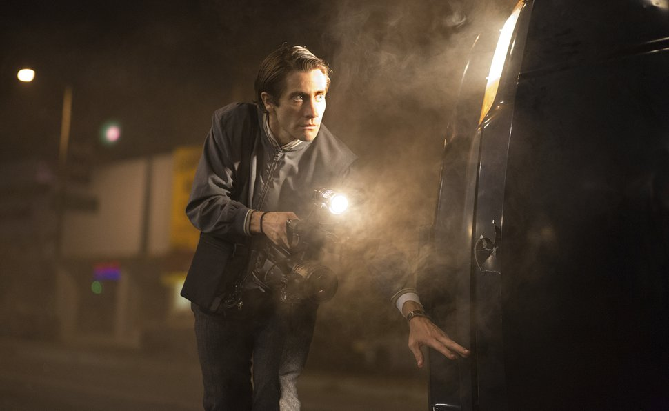 (Photo courtesy Open Road Films) Jake Gyllenhaal plays a freelance crime videographer in the 2014 drama