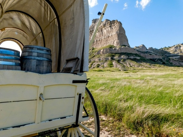Erin Alberty | The Salt Lake Tribune Scenes from the Oregon Trail: Scotts Bluff National Monument, Gering Neb.