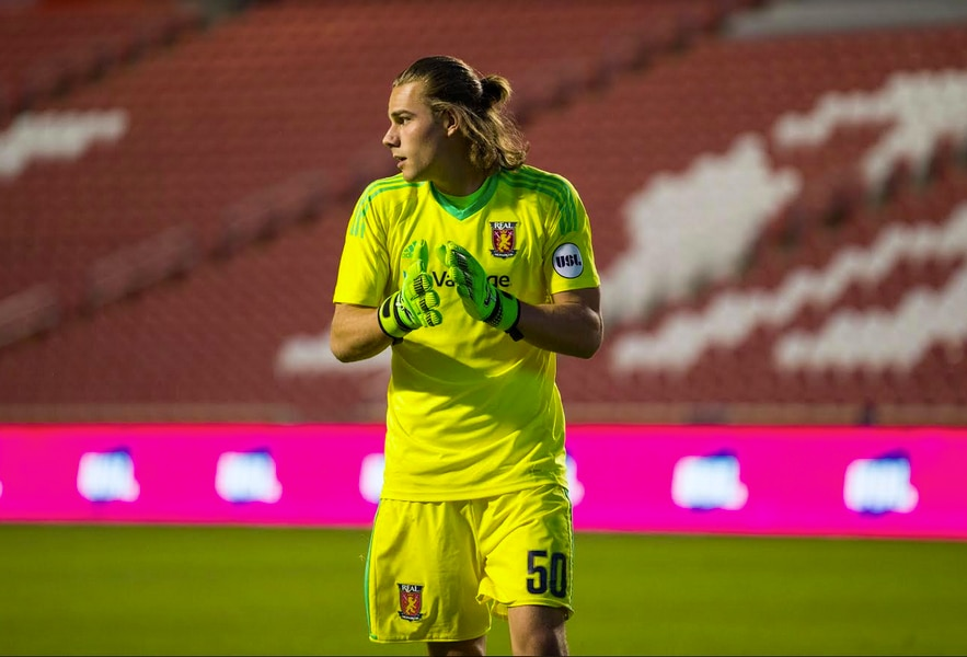 Real Salt Lake: Monarchs goalkeeper Connor Sparrow signed to the first team