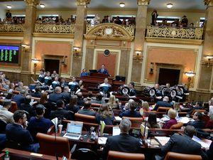 (Francisco Kjolseth     The Salt Lake Tribune) House Speaker Brad R. Wilson, R-Kaysville, delivers opening remarks at the start of the 2020 legislative session at the State Capitol in Salt Lake City, Utah, on Monday, Jan. 26.