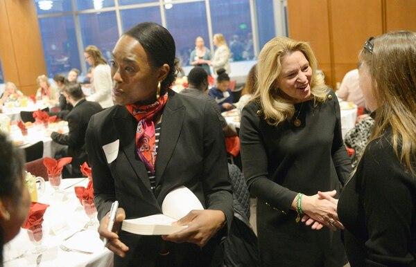 (Al Hartmann | The Salt Lake Tribune) Author Margot Lee Shetterly signs copies of her book