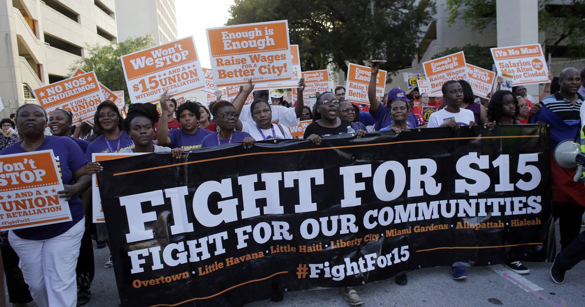 Who's radical now? The case of the minimum wage.