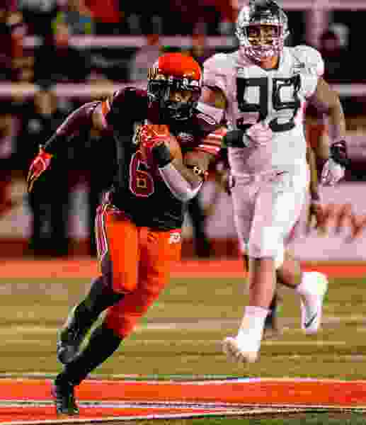 Utah running back Armand Shyne responds to his promotion with a Zack Moss-level performance.