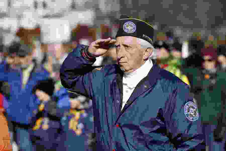 Letter: A salute to veterans and to all who offer them free services