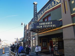 (Francisco Kjolseth | The Salt Lake Tribune)  The Sundance Film Festival kicks into high gear along Main street in Park City on Friday, Jan. 25, 2019, with fans hoping to snap a selfie with a celebrity, autograph seekers, paparazzi, locals and lots of people in black.