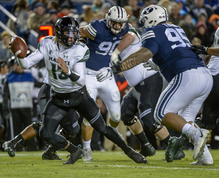 BYU's Khyiris Tonga wants to leave for the NFL after his junior season, and coach Kalani Sitake is all for it