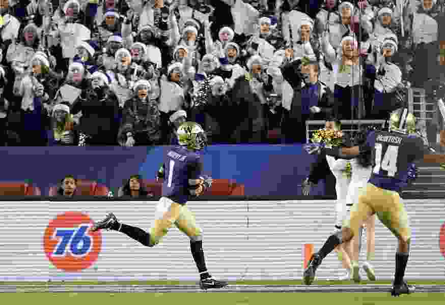 One bad bounce crushes Utah's Rose Bowl hopes in a 10-3 loss to Washington in Pac-12 title game