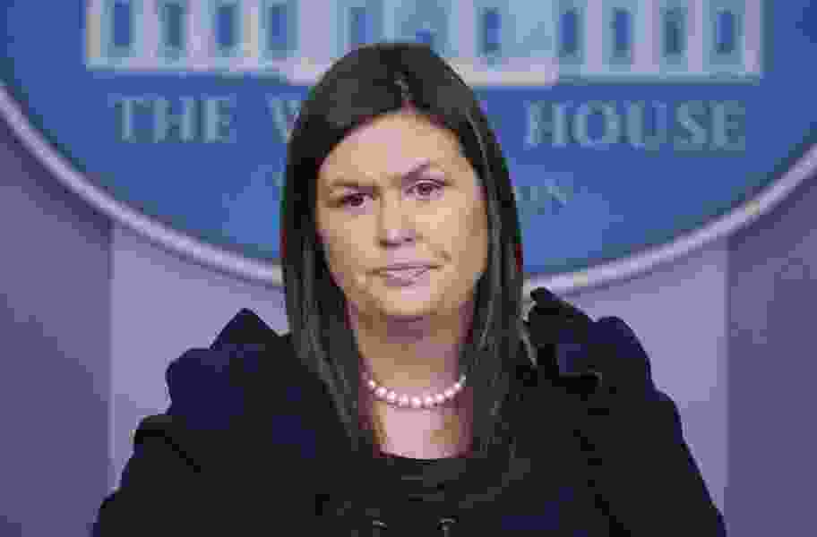 Margaret Sullivan: Dishing up lies while proclaiming the love of facts, Trump and Sarah Sanders gaslight America