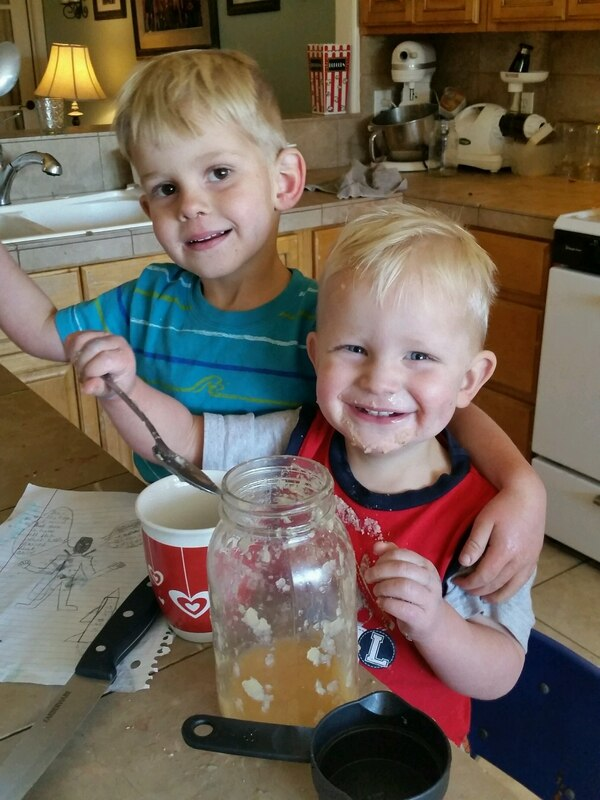 Adonijah Foster, right, smiles with a brother beside him in this undated photo. Adonijah, 2, died April 14, 2018, in a house fire at his family's home in Rockland Ranch in southeast Utah.