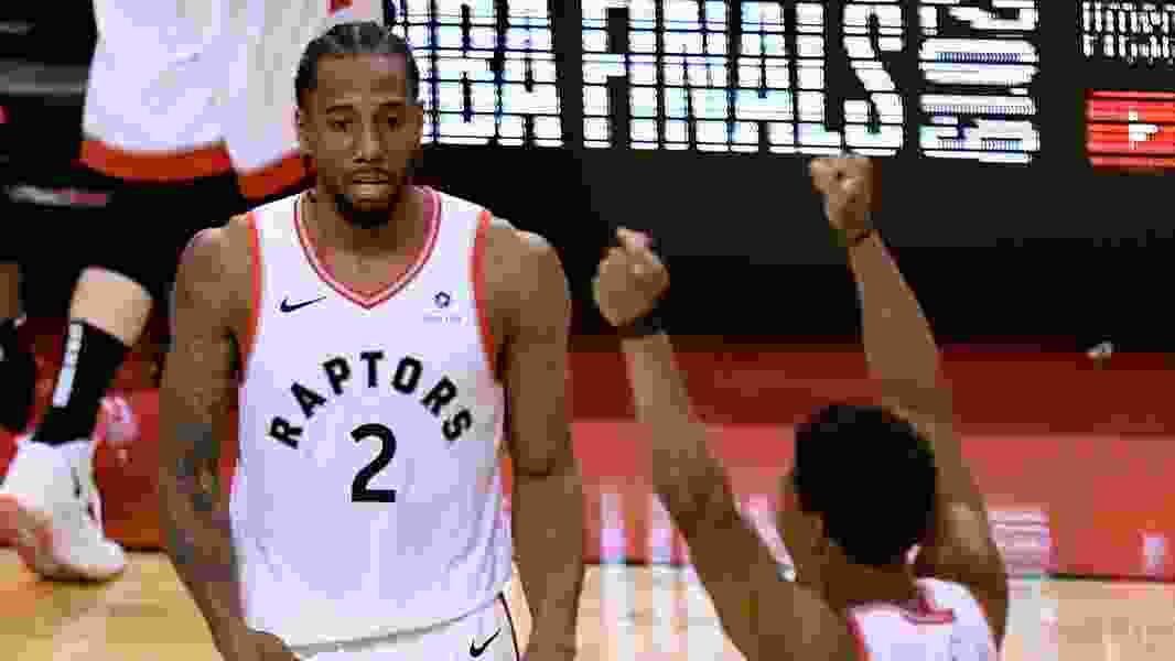 Leonard scores 27 to lead Raptors past Bucks and into first NBA Finals