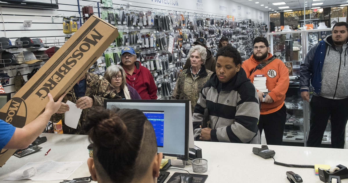 Guns Were Black Friday Must Haves Going By The Fbi S