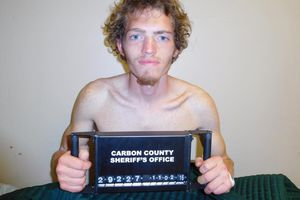 (Courtesy of Carbon County Sheriff's Office)  Seth Gordon Peterson.