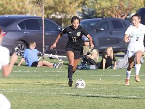 (Bizzy Arevalo) Davis High graduate Bizzy Arevalo won the Gatorade Player of the Year award for girls' soccer in Utah.