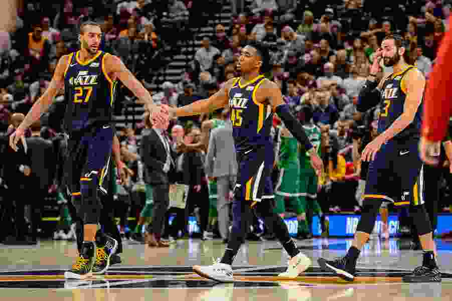 Optimism surrounds the Jazz going into Wednesday's season opener, but this team also knows it's not going to sneak up on anyone in 2018-19