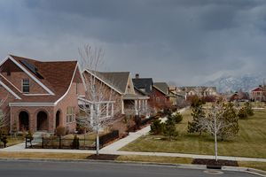 (Francisco Kjolseth  |  The Salt Lake Tribune) Daybreak, the 4,100-acre master planned community in South Jordan, was purchased by a new developer. Can you guess which?
