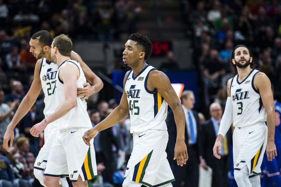 What Would Jazz Look Like If Gordon Hayward Stayed And Teamed With Donovan Mitchell The Salt Lake Tribune