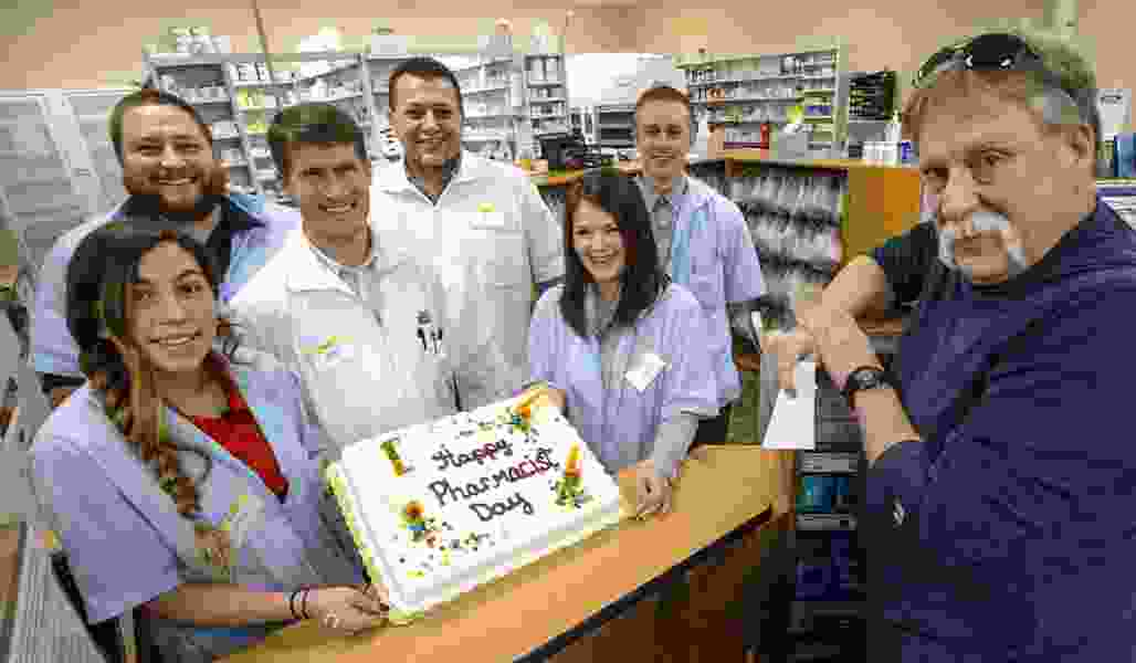 Kirby: Happy Pharmacist Day to the drug peddlers who keep me alive, healthy and relatively happy