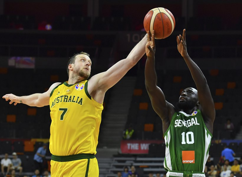 official photos 27ccb 96c44 Joe Ingles almost pulls off the first triple-double in World ...