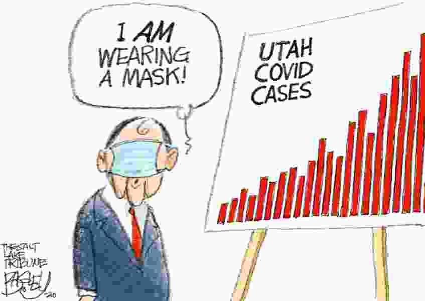 Bagley Cartoon: Who Was That Masked Man?