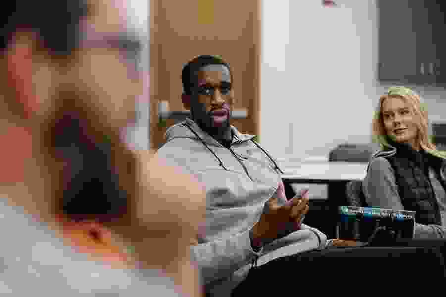 Jazz center Ekpe Udoh has brought his book club to Utah, and team's literary-minded fans have responded enthusiastically