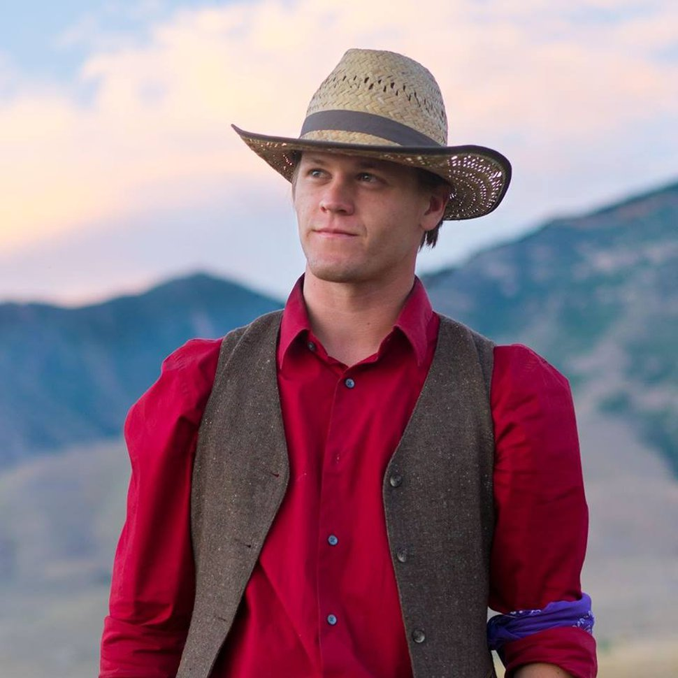 (courtesy Excel Entertainment) Austin R. Grant plays Tom, a Mormon teen who reluctantly joins a pioneer re-enactment journey, in the comedy