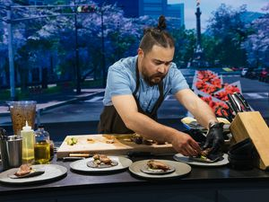 """(Photo courtesy of discovery+) Utah chef, Ben Steigers, is a contestant on the first season of """"The Globe."""""""