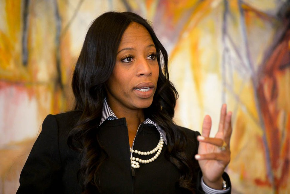 (Trent Nelson | The Salt Lake Tribune) Rep. Mia Love, R-Utah, in Salt Lake City, Wednesday Oct. 17, 2018.