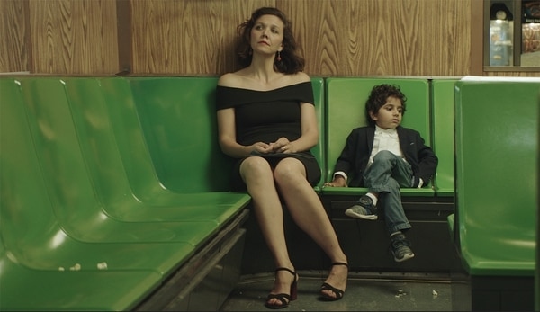 ( Courtesy Sundance Institute) A teacher (Maggie Gyllenhaal, left) fights to help a gifted 5-year-old student (Parker Sevak) in Sara Colangelo's