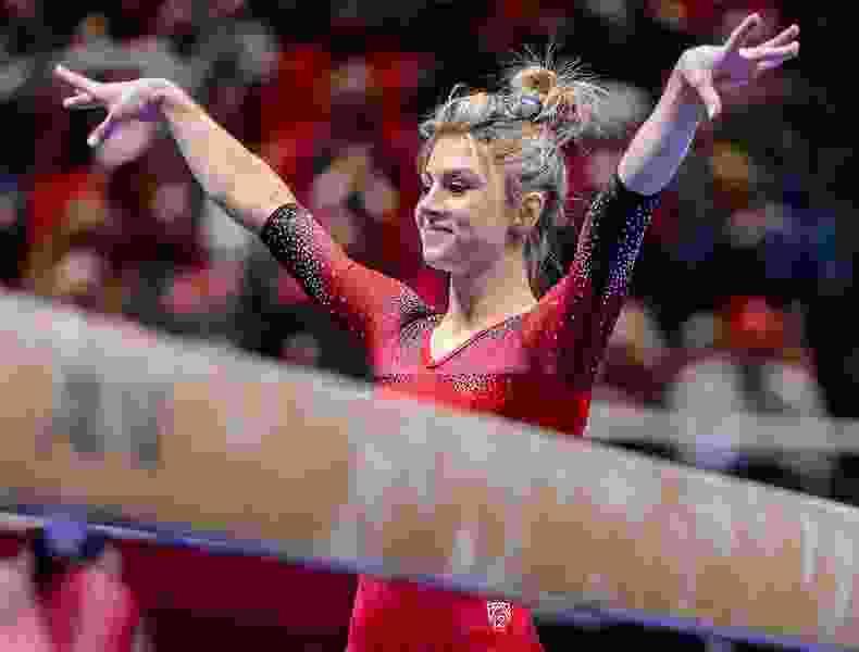 State colleges: Utah gymnast Sabrina Schwab retires