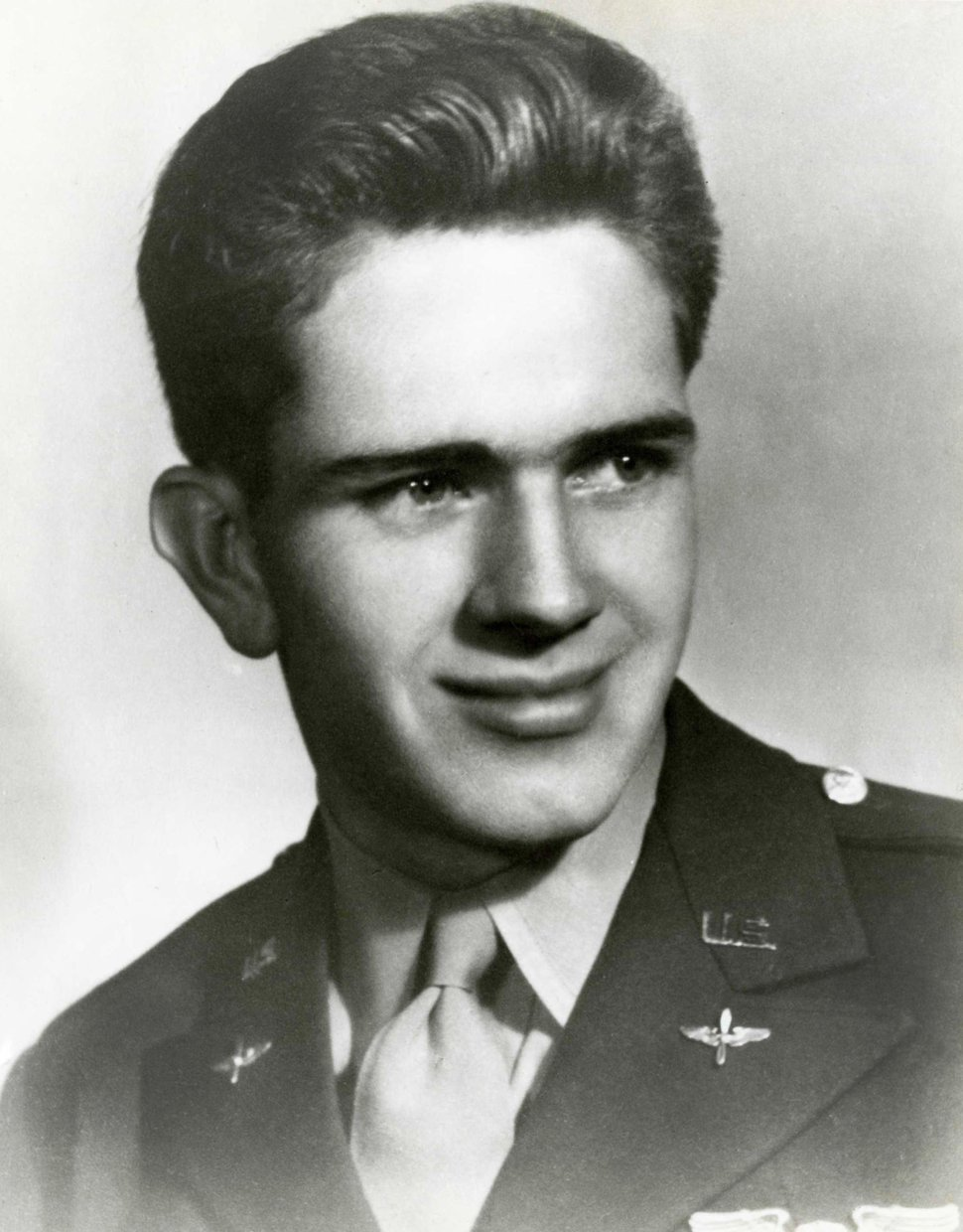 Courtesy | LDS Church Boyd K. Packer was a United States bomber pilot during World War II in the Pacific Theater. This photo was taken September 1944.